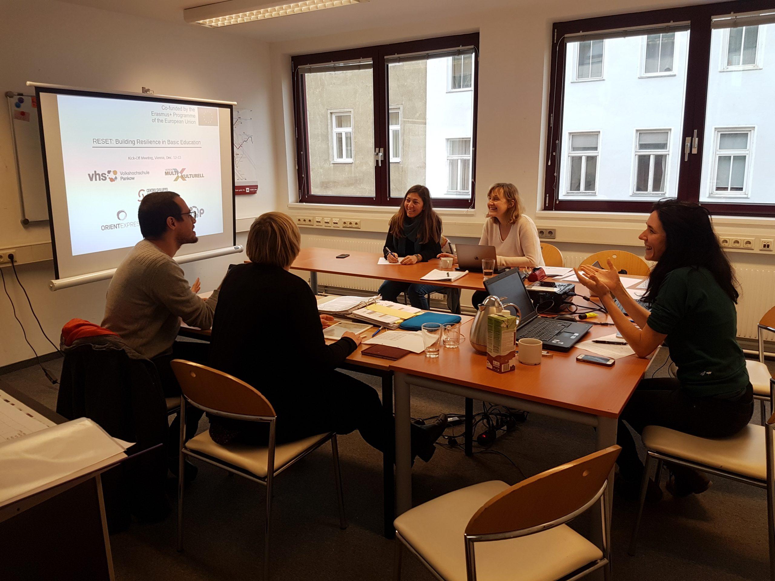 Transnational Partner Meetings
